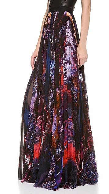 J. Mendel Pleated Skirt