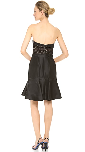 J. Mendel Silk Gazaar Dress