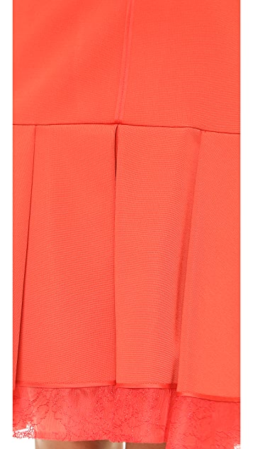 J. Mendel Sleeveless Techno Jersey Dress