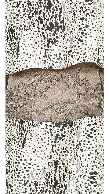 J. Mendel Long Sleeve Top