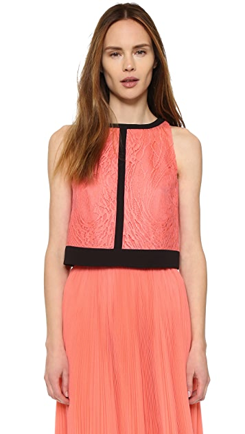 J. Mendel Lace Crop Top