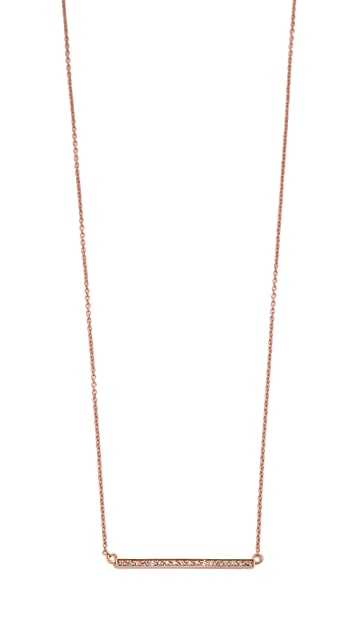Jennifer Meyer Jewelry Pave Stick Necklace