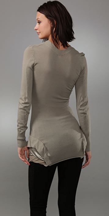 JNBY Elegant Rock V Neck Sweater