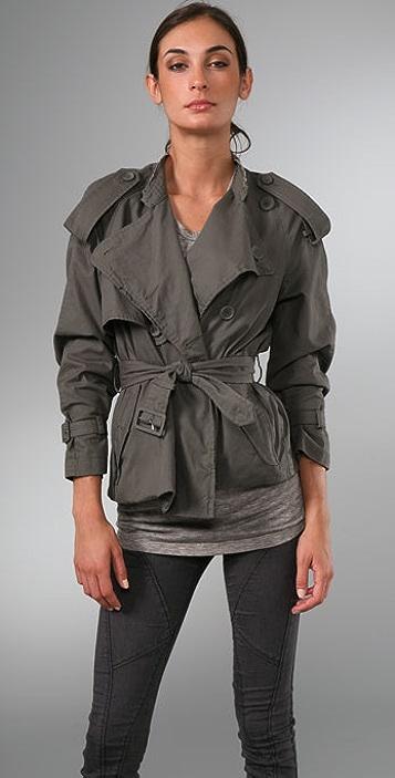 JNBY Adventure Short Trench Coat