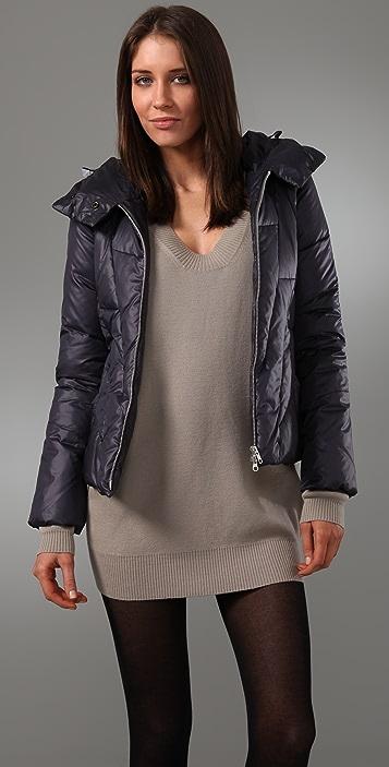 JNBY Short Hooded Puffer Jacket