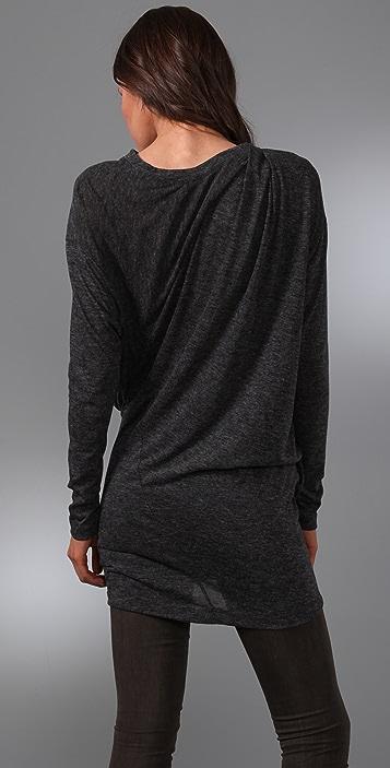 JNBY Draped Long Sleeve Tunic
