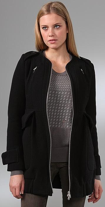 JNBY Military Wool Coat