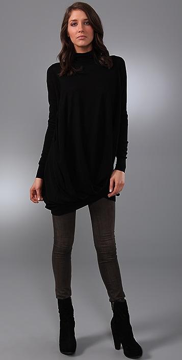 JNBY Drape Turtleneck Sweater