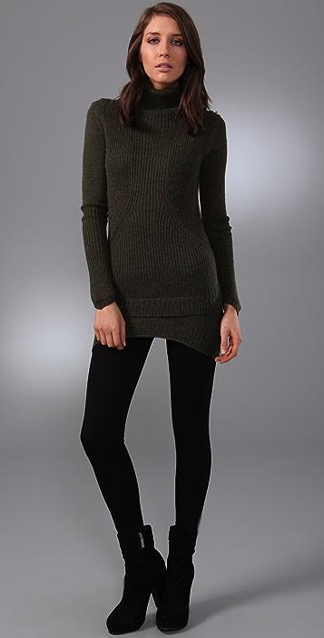 JNBY Turtleneck Sweater Dress