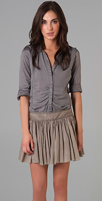 JNBY Long Sleeve Button Down Tunic