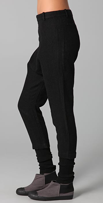 JNBY Harem Pants with Knit Cuffs