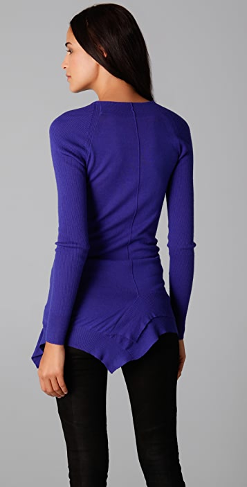 JNBY Ribbed Long Sleeve Sweater