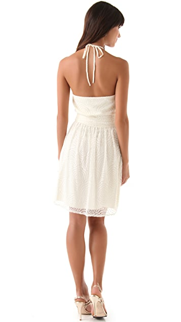Joanna August Short Lace Dress