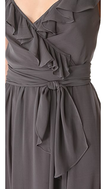 Joanna August Lacey Ruffle Dress
