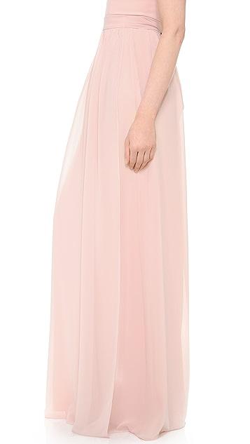 Joanna August Whitney Wrap Maxi Skirt