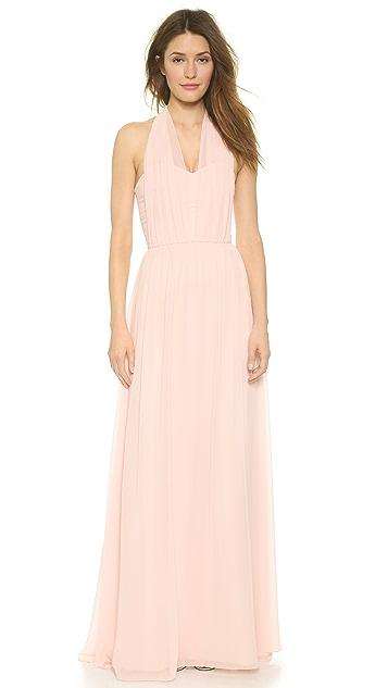 Joanna August Sammy Long Lace Convertible Dress