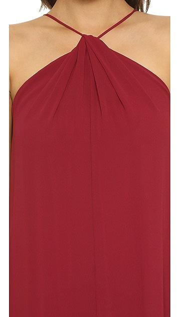 Joanna August Casey Keyhole Twist Maxi Dress