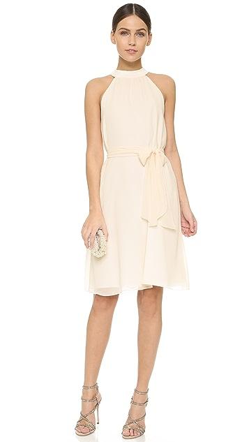 Joanna August Elena Short High Neck Dress