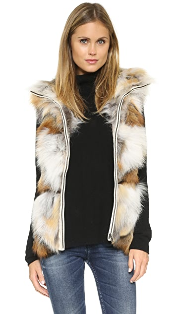 Jocelyn Natural Golden Island Fox Vest