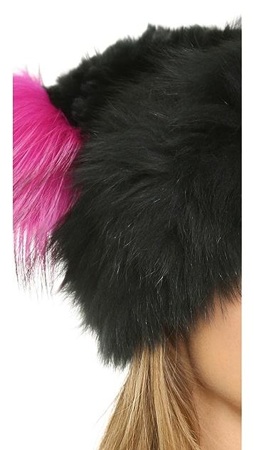 Jocelyn Fur Knitted Hat