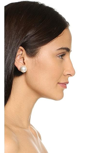 Jocelyn Mink Tails Fur Earrings