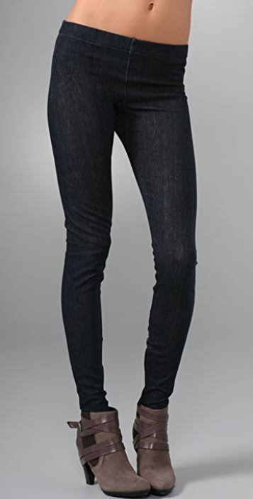 Joe's Jeans Zip Ankle Denim Leggings