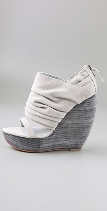 Joe's Jeans Lilly Suede Wedge Booties