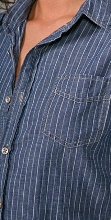 Joe's Jeans THE SHIRT Sexy Shirtdress