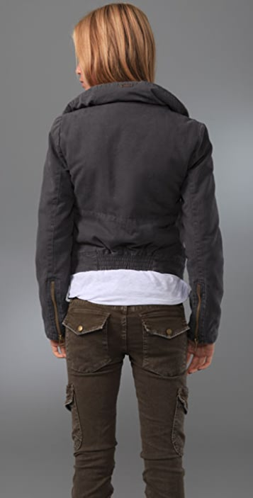 Joe's Jeans Cropped Zipper Jacket