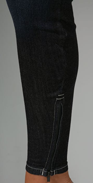Joe's Jeans Zip Denim Leggings