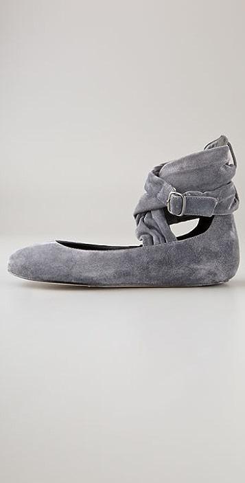 Joe's Jeans Sassy Suede Flats