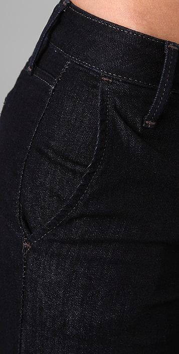 Joe's Jeans Wide Leg Trouser Jeans