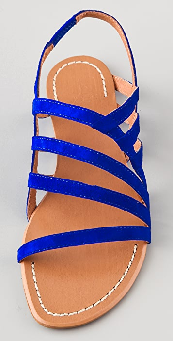 Joe's Jeans Tina Strappy Suede Sandals