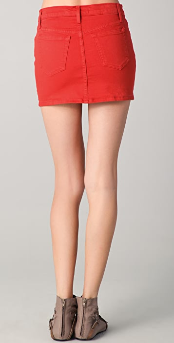 Joe's Jeans High Rise Mini Skirt