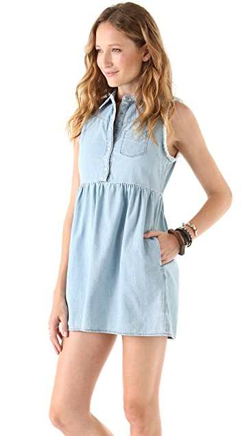 Joe's Jeans Sleeveless Babydoll Dress