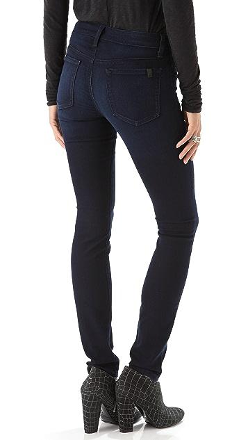 Joe's Jeans Debbie Flannel Touch Skinny Jeans