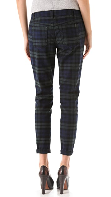 Joe's Jeans The Plaid Skinny Pants