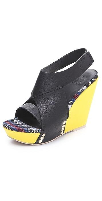 Joe's Jeans Tyra Wedge Sandals