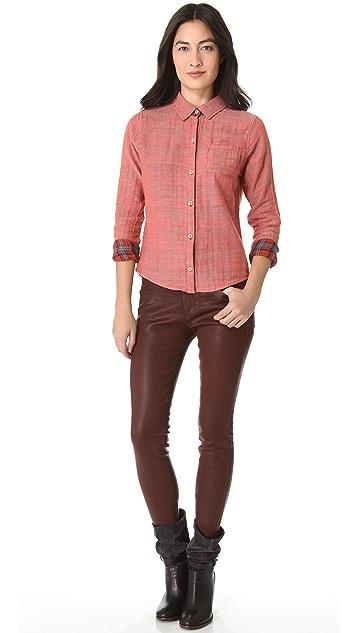 Joe's Jeans Reversible Pocket Shirt