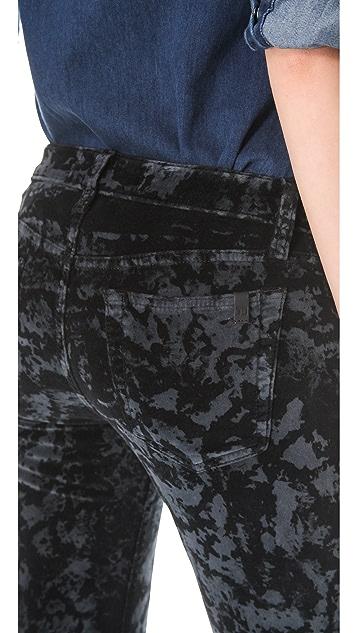 Joe's Jeans Skinny Lunar Dye Velvet Pants