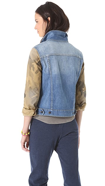 Joe's Jeans Camo Jacket