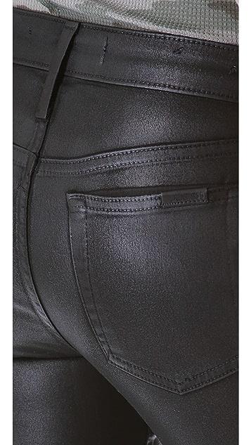 Joe's Jeans Coated Ankle Skinny Jeans
