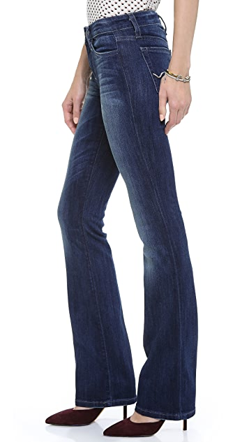 Joe's Jeans Curvy Mini Boot Cut Jeans