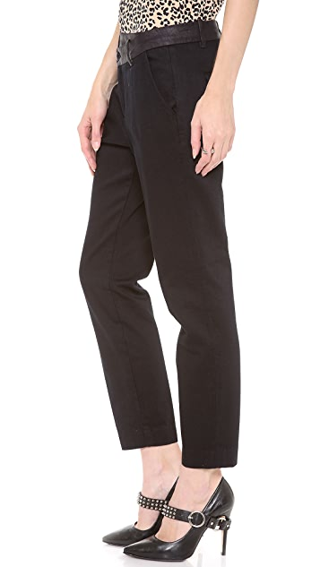 Joe's Jeans Super Chic Variegate Waist Trouser