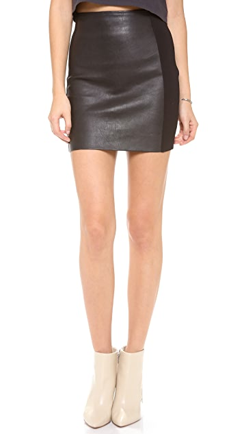 Joe's Jeans Jessica Leather Skirt
