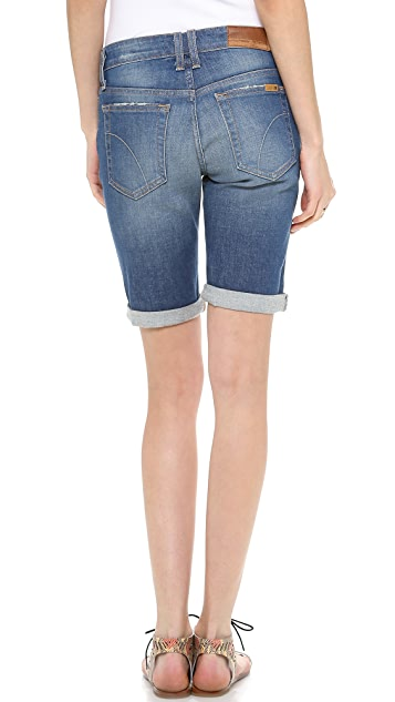 Joe's Jeans Roled Bermuda Shorts