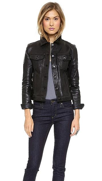 Joe's Jeans Leather Jacket