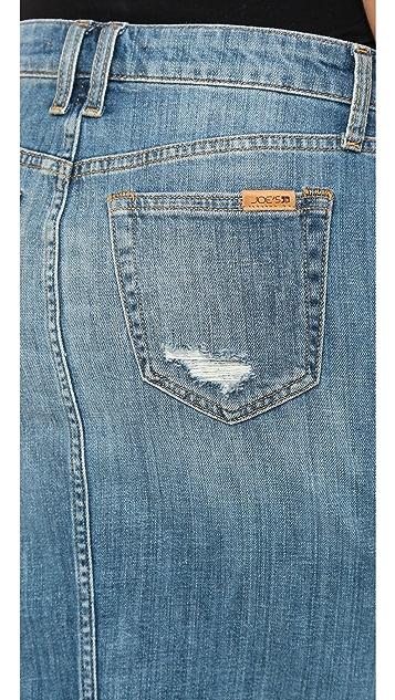 Joe's Jeans Button Up Pencil Skirt