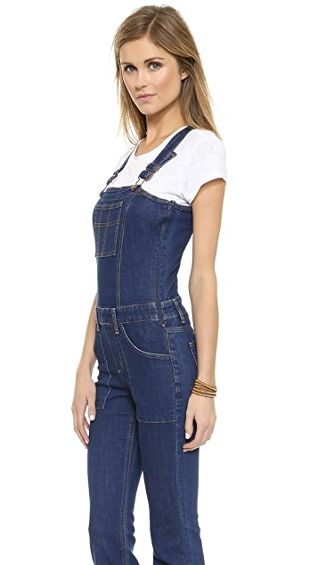Joe's Jeans Charlie Flare Overalls