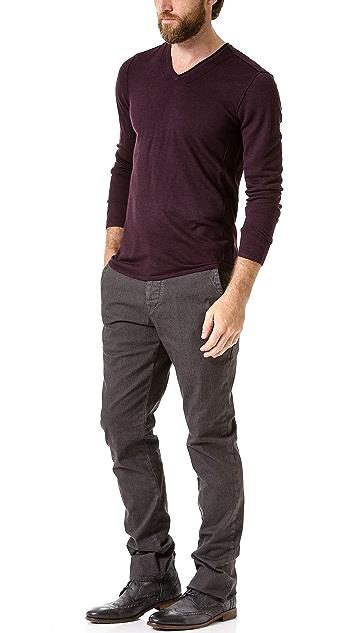 John Varvatos Star USA V Neck Sweater